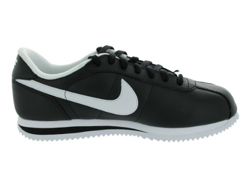 Nike Mens Cortez Basic Lether 06 Leather Trainers negro (negro)