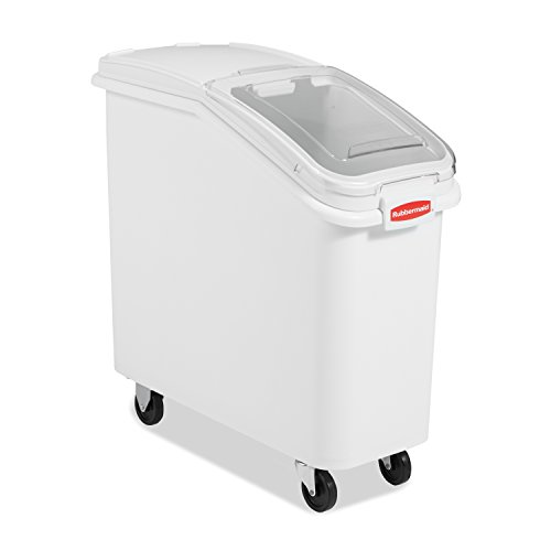 Rubbermaid 79L ProSave Ingredient Bin with Scoop - White