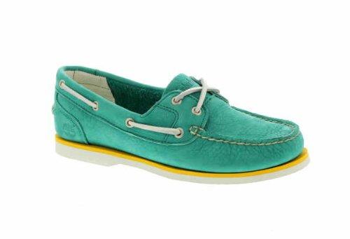 Damen Freizeitschuhe Earthkeepers Classic Boat Emerald Green
