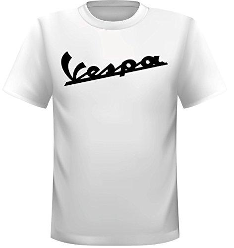 Streetwall t-shirt VESPA scritta, bianco