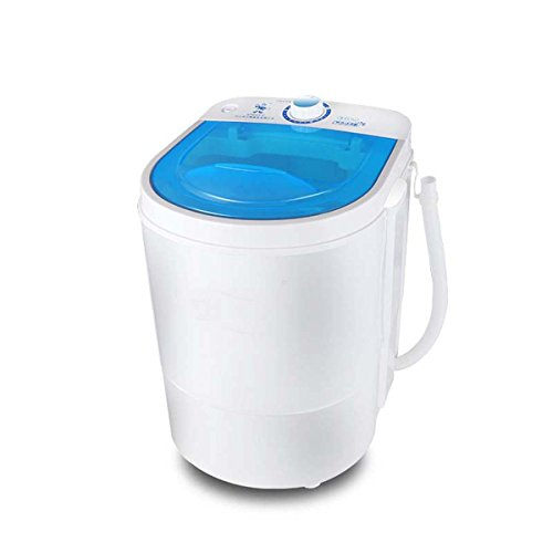 DSHBB Mini-Waschmaschine, Waschkapazität groß 4.5kg, Tragbar, Camping Wasch Spülen, Eine Mini-Waschmaschine, Baby-Unterwäsche gewidmet, Gute Waschwirkung, Entwässerungseffekt Keine Tropfen 220V, 260W (260 Spule)