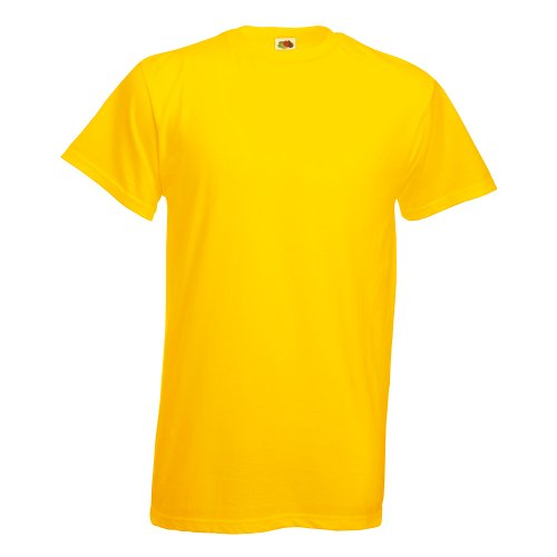 Fruit of the Loom T-Shirt 'Heavy Cotton T' 61-212-0 Yellow