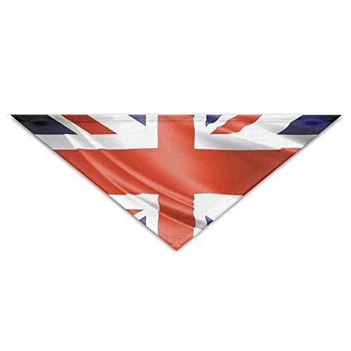 Pet Bandanas UK Britische Flagge Hund Bandanas Schals Dreieck Lätzchen Schals Soft Basic Halstuch Katze Kragen