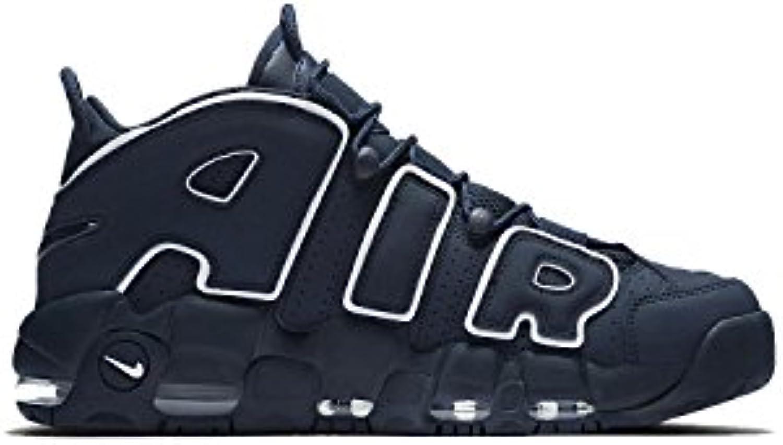 Nike Zapatos Unisex Bajas Zapatillas de Deporte 921948 400 Aire MÁS Uptempo '96 -