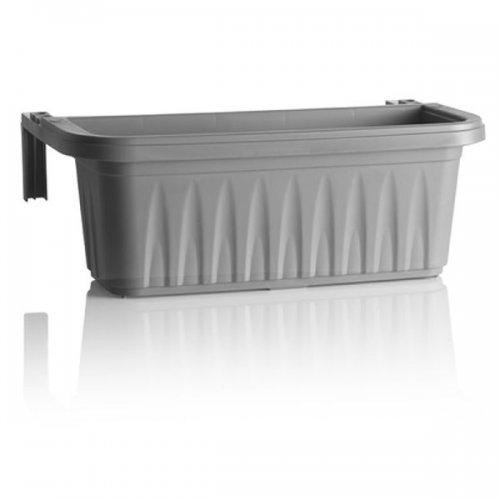 Bama 31217rondine regolabile, da balcone con serbatoio d' acqua, grigio, 50cm