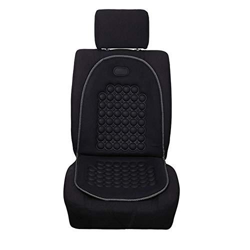 Car Seat Support Cushion Coprisedile Anteriore per Auto Schienale Massaggiante Ortopedico Cuscino per Sedile Anteriore Proteggi Supporto Posteriore Cuscino per Sedile Anteriore per Auto - Supporto