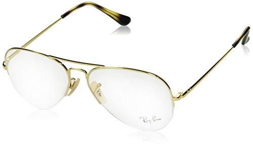 Ray-Ban Unisex-Erwachsene 0RX6589 Brillengestelle, Gold, 56