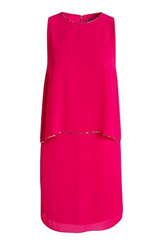 ESPRIT Collection Damen Kleid Rot (CHERRY RED 615)