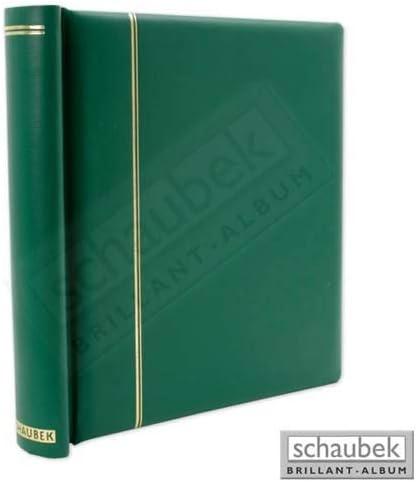 Schaubek Klemmbinder, grün, mit 40 Blankoblättern bb300 DK300/4 | Emballage Solide