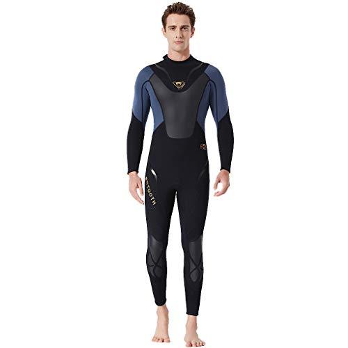 Schnorcheln - Strand UV Schutz Overall Tauchanzug QIMANZ Männer Warm halten Sonnencreme Schwimmen Surfen und Schnorcheln Tauchen Overall Anzug(A Grau,XXL)