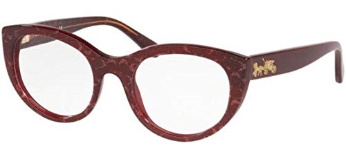 Brillen Coach HC 6132 BURGUNDY GLITTER Damenbrillen