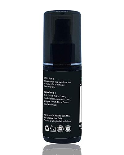 The EnQ Hair Mist Spray Hair Tonic Spray for Healthy Hair Hair Fall Control Mist Spray Anti Dandruff Hair Spray