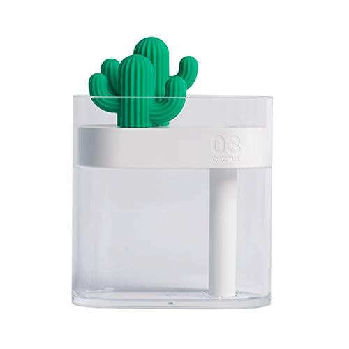 Wen Ying Cactus Mini USB Umidificatore Dormitorio Scrivania Superficie Muto Umidificatore Piccolo umidificatore idratante deodorant