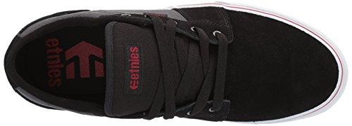 Etnies Herren Barge LS Skateboardschuhe, Schwarz black/dark grey