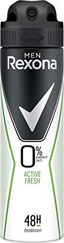 Rexona Men Deospray Active Fresh ohne Aluminium, 6er Pack (6 x 150 ml)