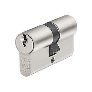 ABUS Mechanical E60NP Euro-Doppelzylinder Nickel-Perle 45mm/50mm Box
