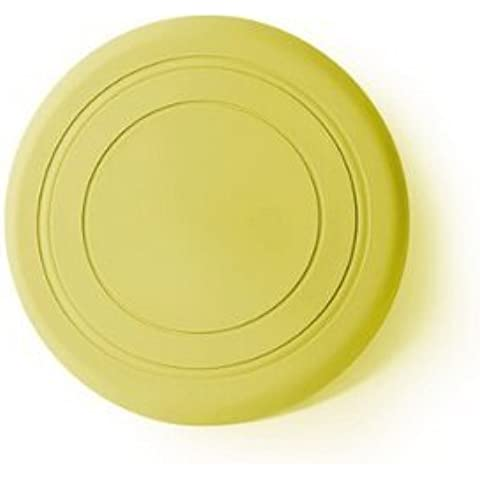 Edealing Pet Dog Flying Disc Frisbee juguete folleto Catcher Ejercicio de Entrenamiento de silicona Paquete De