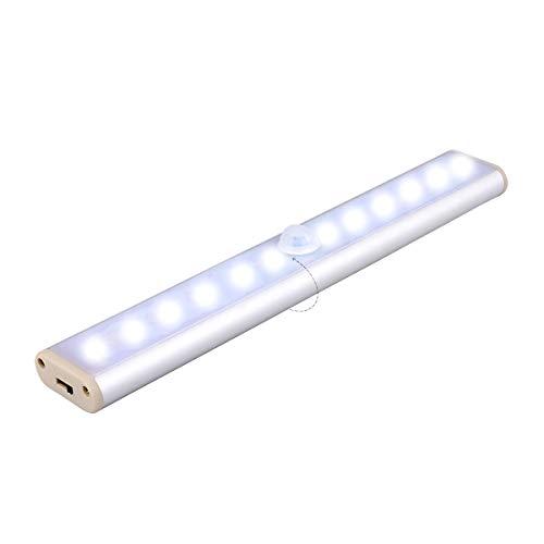 LoveVV Bewegungsmelder Bar innen, DREI LED-Garderobenleuchten, elektrisch bedienende Leuchten, geeignet für Küchentheke oder Toiletten und andere Orte -