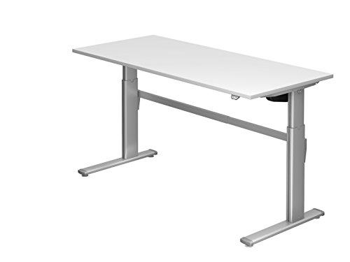Schreibtisch Hammerbacher Serie XM 180 cm, Dekor: Weiss