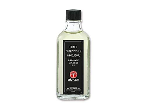 BÖKER Herren Kamelienöl, transparent, One Size