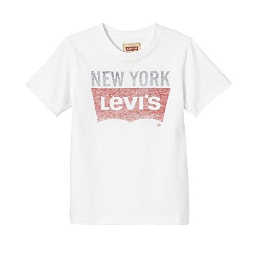 Levi's ss tee core, maglietta bambino, bianco (white), 14 anni