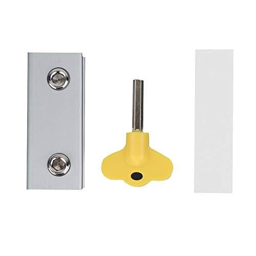 4 Unidades Seguridad para Ventana Restrictor Puerta Ventana Seguridad para Beb/é Bloquo Venana para ni/ños Cierre Cable Limitador de Apertura de Ventana