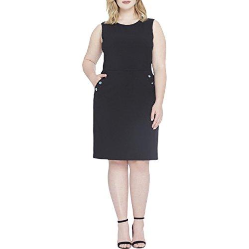 Tahari Women's Plus Size Embellished Sheath Dress