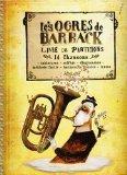 Les Ogres de Barback, 14 Chansons. Partitions pour Ligne De Mélodie, Paroles et Accords