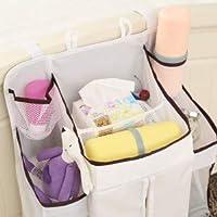 Gu3Je A/B Type Crib Storage Bag Cup Holder Book Mobile Phone Diaper Toy Crib Diaper Hanging B