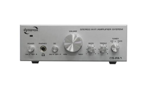 Dynavox CS-PA1 - Amplificador de audio (2.0, 50 W, 20 - 30000...