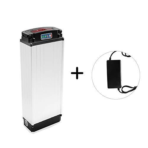 X-go Batteria per Bicicletta elettrica 48V 20Ah 1000W Portabatteria per Bici elettrica Portabatteria Carrier Li-Ion con Caricabatterie