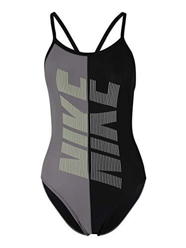 Nike Damen Sportbadeanzug Rift schwarz L/40 - Nike Badeanzug Damen