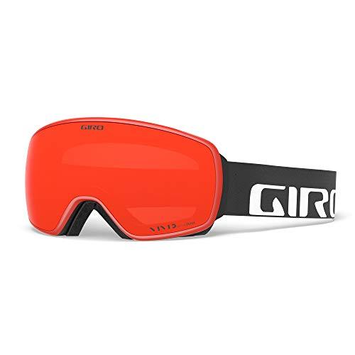Giro Schneebrille Agent Einheitsgröße Black Wordmark - Vivid Ember/Vivid Infrared Lenses