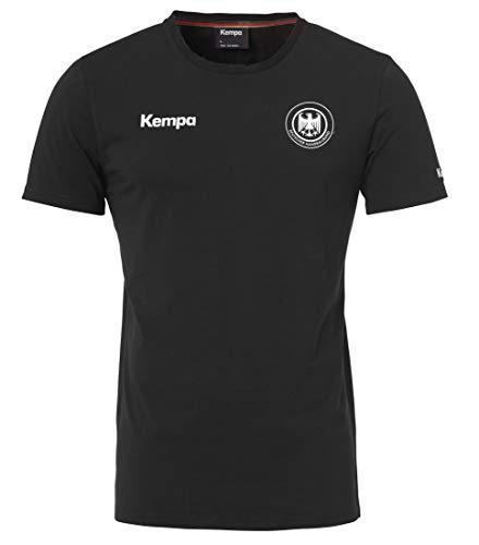 Kempa Herren Dhb Deutschland T-Shirt Kinder Fan-Trikot, schwarz, 140