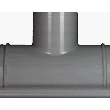 Stutzen 150-100 grau RG/DN 150/105 grau