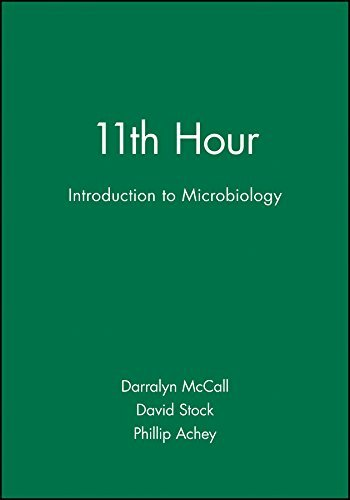 11th Hour Introduction to Microbiology (Eleventh Hour - Boston) by Darralyn McCall (2001-05-08) par Darralyn McCall