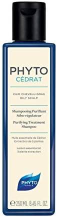 Phyto Phytocedrat Shampoo Purificante Seboregolatore Astringente, Ottimale per Capelli Grassi, Formato da 250