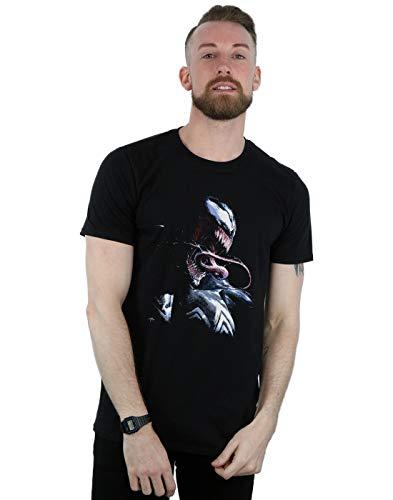 Marvel Universe Herren Venom Painting T-Shirt Schwarz XXXX-Large
