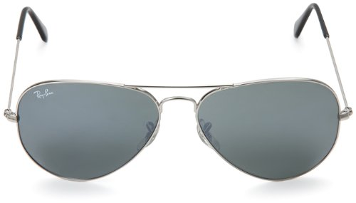 Ray-Ban Aviator Sunglasses (Silver) (RB3025|W3277|58)