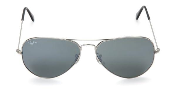 463adbf356 Ray-Ban Aviator Sunglasses (Silver) (RB3025