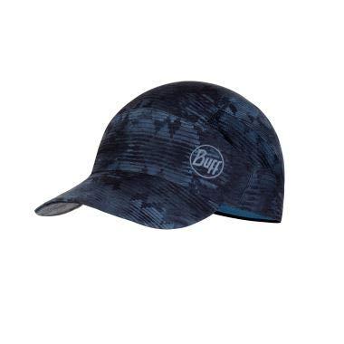 Buff Erwachsene Pack Patterned Trek Cap, Tzom Stone Blue, One Size