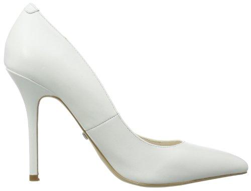 Buffalo London 112-1211 SILK LEATHER, Scarpe chiuse donna Bianco (Weiß (WHITE))
