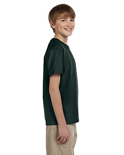 Gildan - 2000B Ultra Cotton Jugend T-Shirt Forest Green