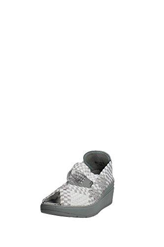Grünland SELA SC1912 chaussures blanches femme dérapant sur coin élastique Bianco