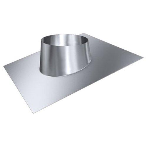 MK sp. Z o.o. Schornstein, Dachdurchführung 5°-20°, Edelstahl, Lochdurchmesser 200 mm (DW 120) Edelstahl glänzend Keine Farbe wählbar