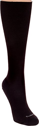 Goodhew Women's Diamond Maze Socks, Black, Small/Medium -
