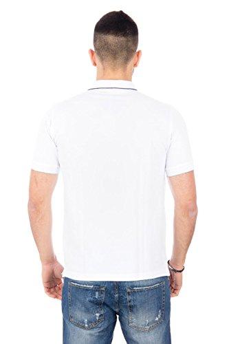 SUN68 Herren Poloshirt Bianco