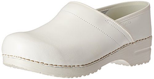 Sanita Original-Professional Closed PU Clogs White 41 EU Sanita Professional Clogs