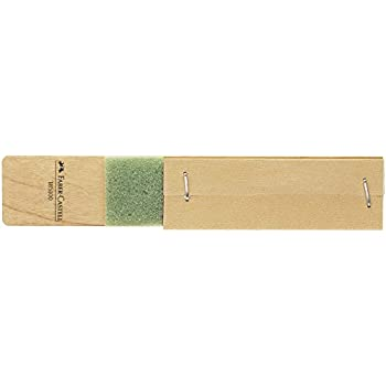 Faber-Castell Sharpening Block With 2 Strips of Fine and Coarse Sandpaper
