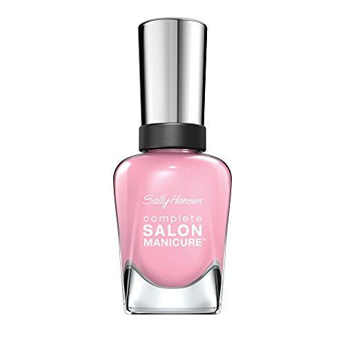 Sally Hansen Complete Salon Manicure Nagellack, Farbe 523, Aflorable, pastel pink, 1er Pack (1 x 15 ml)